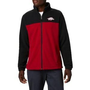 NWT- Arkansas fleece jacket-L